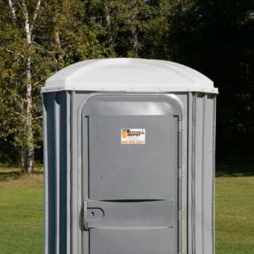 Grey Portable Toilet